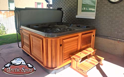 fox family love a new arctic spas® yukon