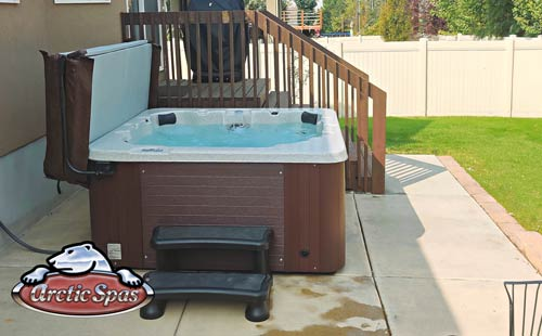 rupp family enjoy a new arctic spa aurora